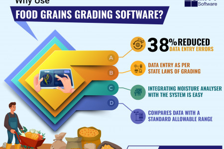 Why Use Food Grains Grading Software? Infographic