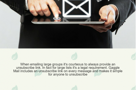Why Use Group Email Infographic