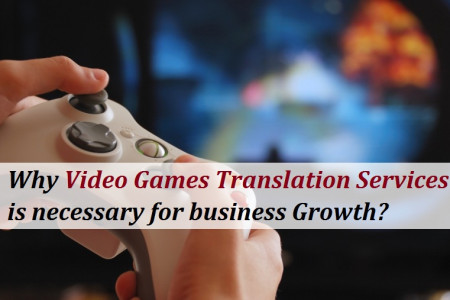 Why Video Games Translation Services is necessary for business Growth? Infographic