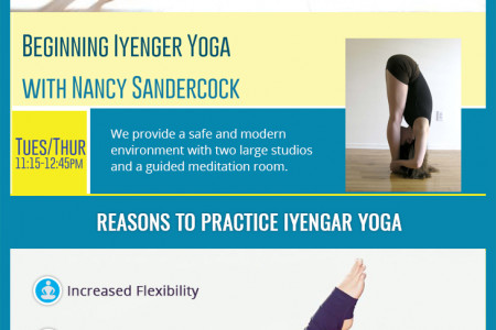 Why Will You Choose Iyengar Yoga? Infographic