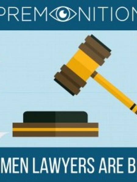 Why Women Lawyers are Best - Data Backed Answer Infographic