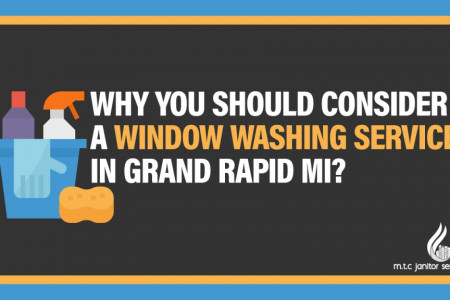 Why You Should Consider A Window Washing Service In Grand Rapid MI? Infographic