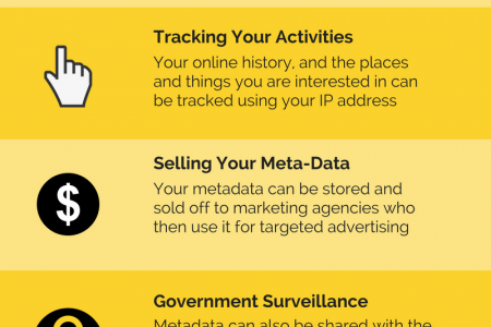 Why You Should Hide Your Original IP Address Infographic