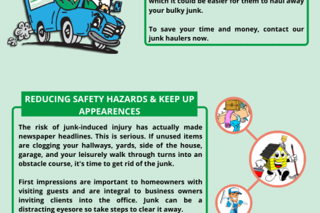 WHY YOU SHOULD HIRE JUNK REMOVAL SERVICES? Infographic
