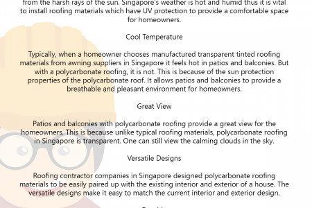 Why You Should Install a Polycarbonate Roof in Your Patios and Balconies Infographic