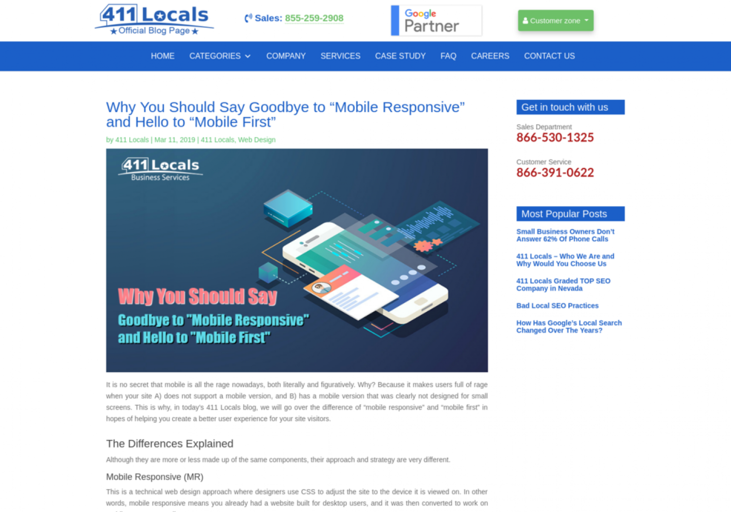 """Why You Should Say Goodbye to """"Mobile Responsive"""" and Hello to """"Mobile First"""" Infographic"""