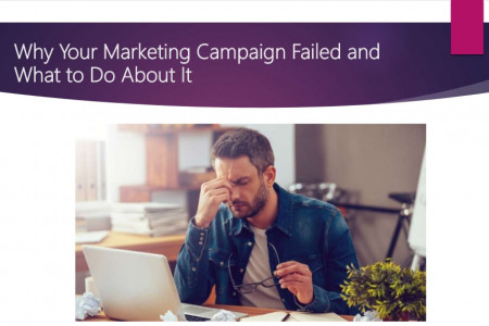 Why Your Marketing Campaign Failed and What to Do About It Infographic