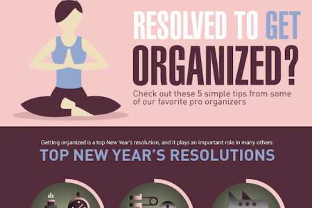 Why Your New Year's Resolution Should Be Getting Organized  Infographic