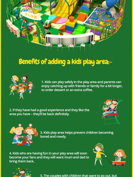 Why Your Restaurant Needs a Play Area Infographic
