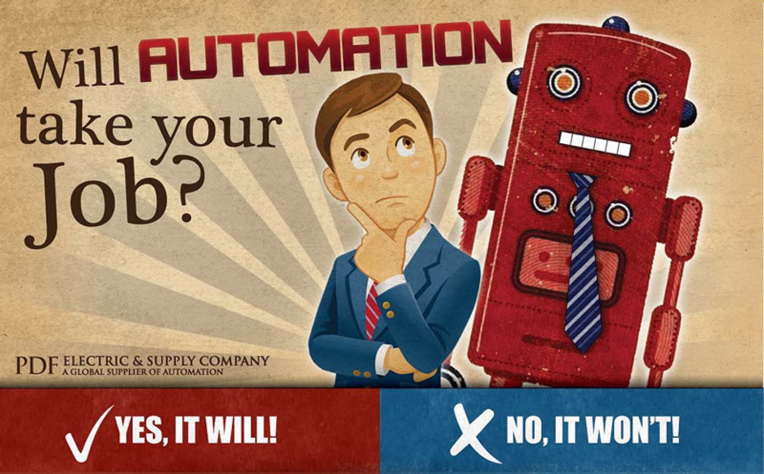 Will Automation Take Your Job? Infographic