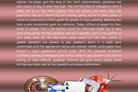 Will Malaysia Online Casino become Third Time Best Casino? Infographic