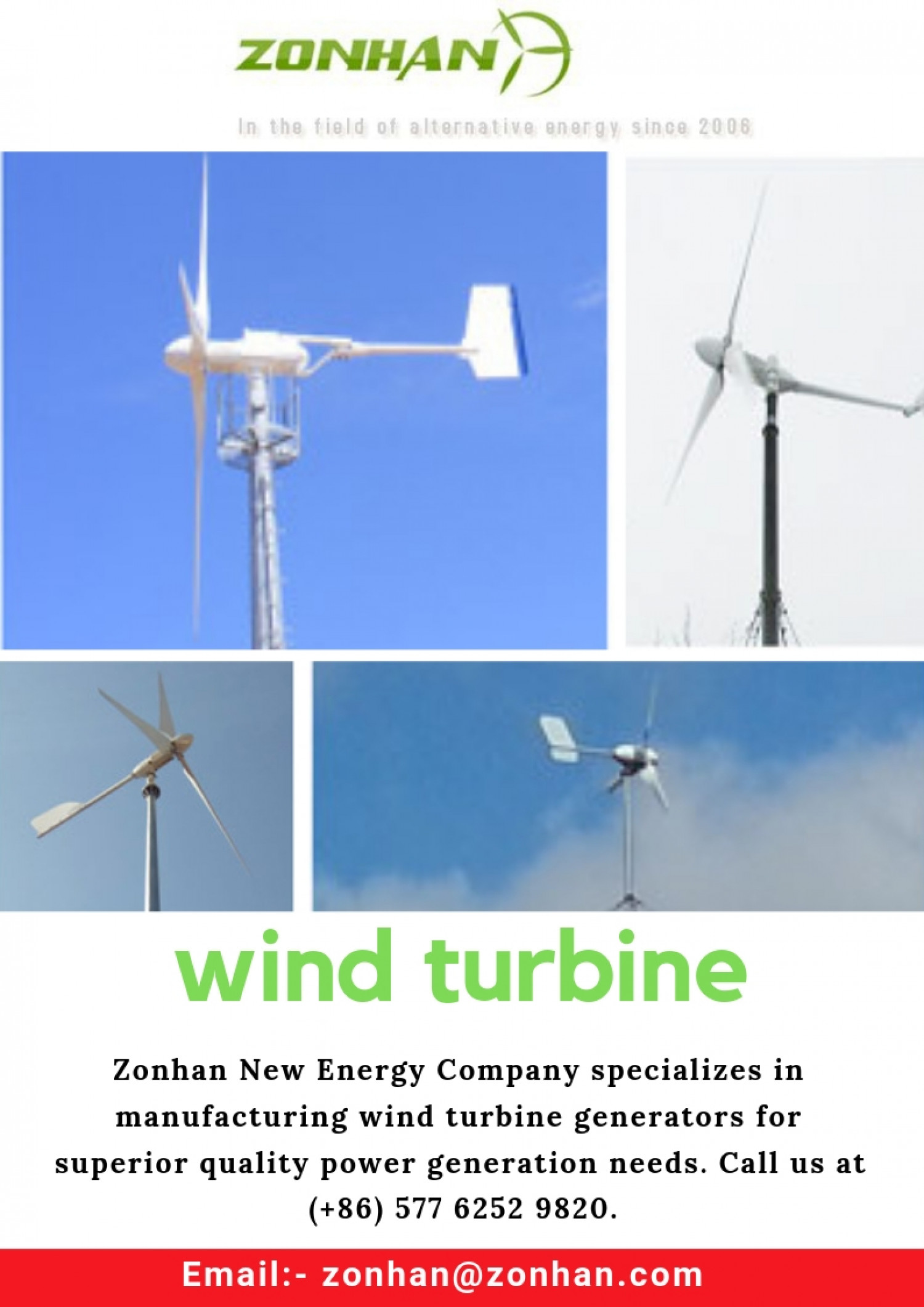 wind turbine Infographic
