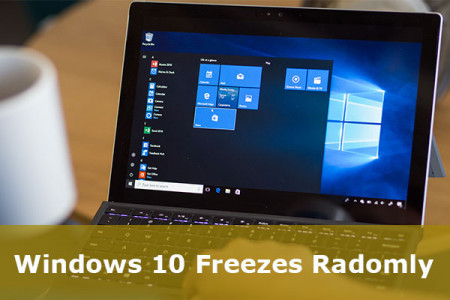 Windows 10 Freezes Randomly 2018 Infographic