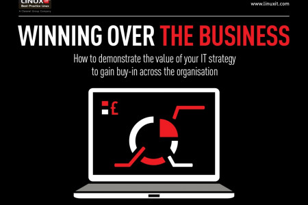 Winning over the Business: How to Demonstrate the Value of Your IT Strategy to Gain Buy-in Across the Organisation Infographic