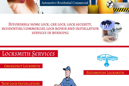 Winnipeg Locksmith Services Infographic