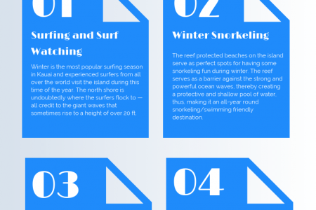 Winter Activities in Kauai [Infographic] Infographic