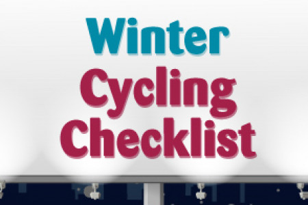 Winter Cycling Checklist Infographic