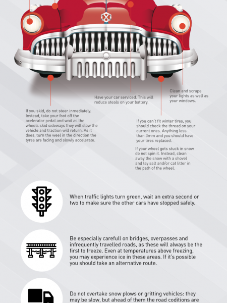 Winter Driving Tips Infographic Infographic