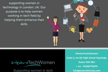 Women In Technology London UK - WeAreTechWomen Infographic