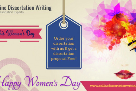 Women's Day Offers on Dissertation for UK Students Infographic