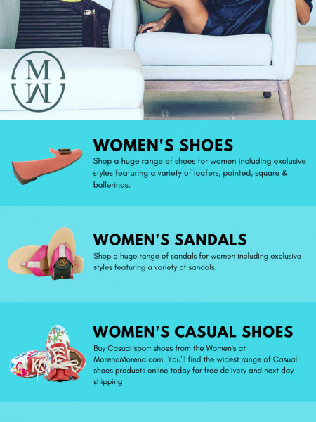 Women's Shoes, Sandals, Minis, and Loafers - Morena Morena London Infographic