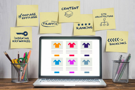 WooCommerce SEO Tips & Top Plugins to Boost Sales and Traffic Infographic
