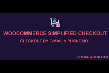 WooCommerce Simplified Checkout Plugin | Checkout by Just e-mail and phone number Infographic