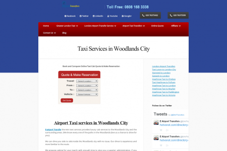 woodlands taxi Infographic