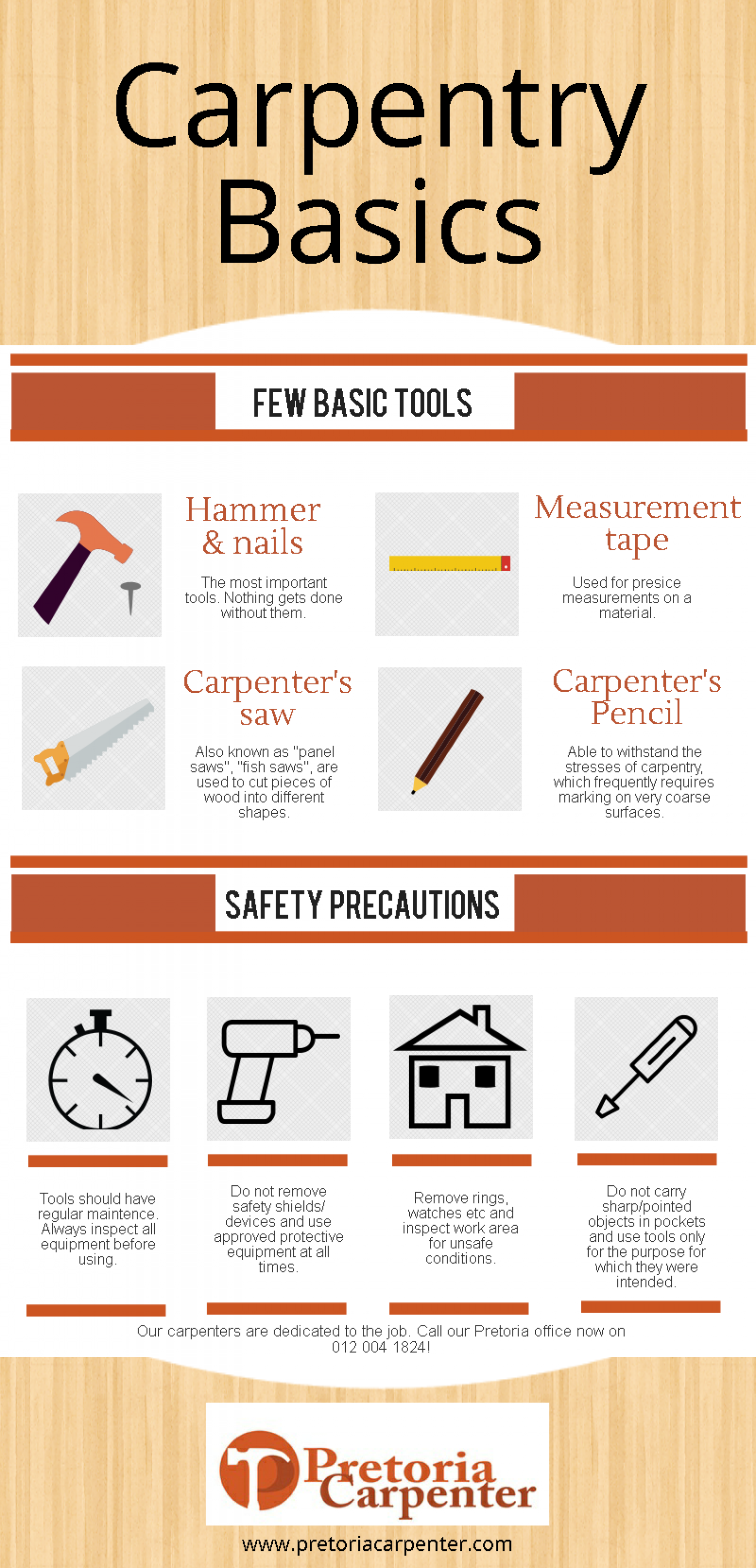 Woodworking Principals Infographic