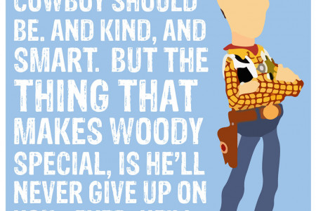 Woody Printable Poster Infographic