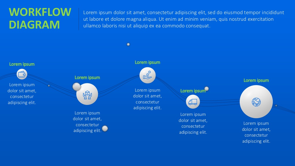 Workflow Powerpoint Template Free Download Visual Ly