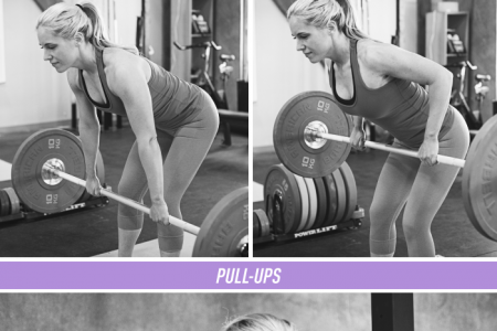 Workouts For a Stronger Back (Women's Edition) Infographic