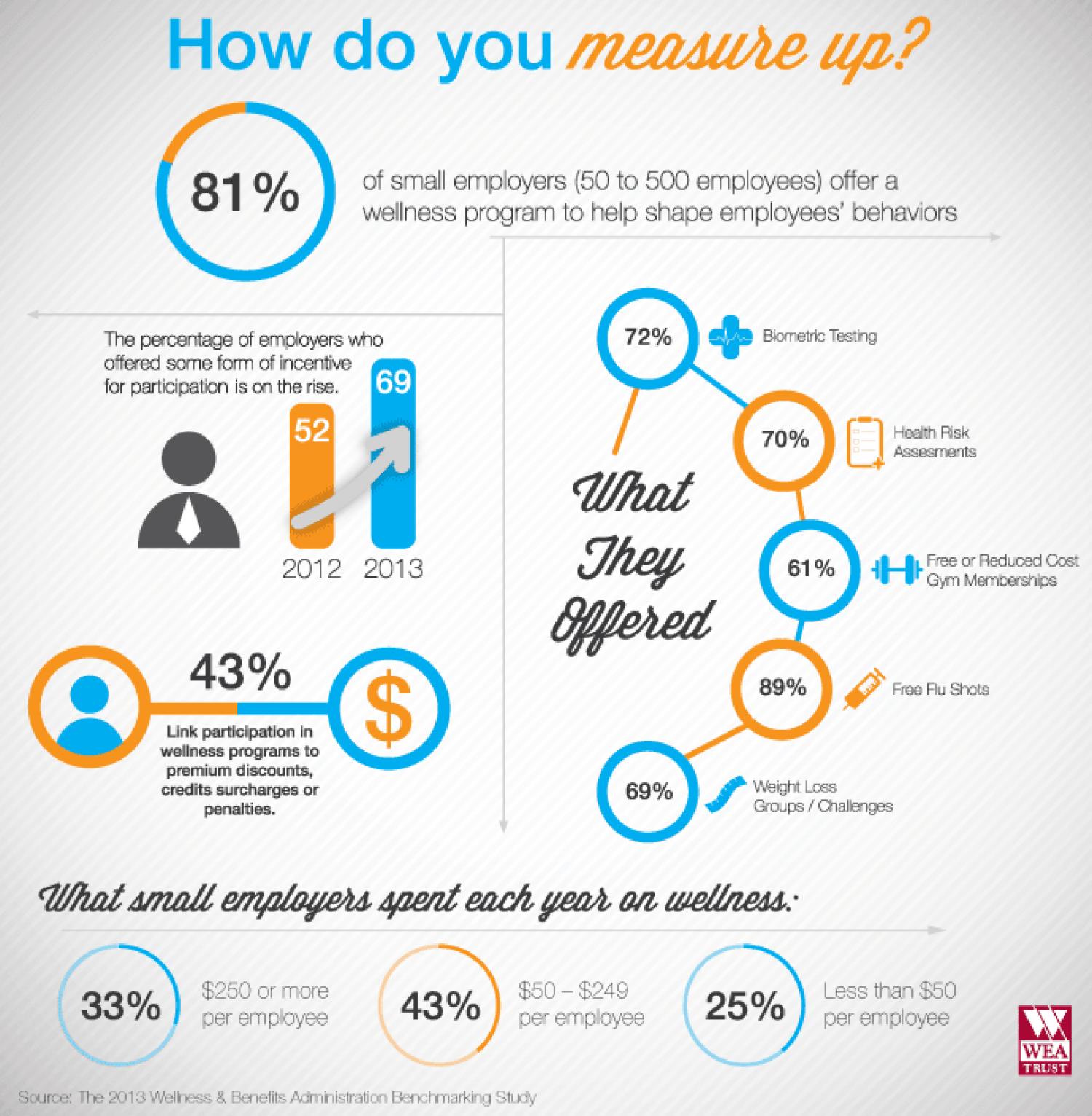 Workplace Wellness Programs Measure Up Infographic
