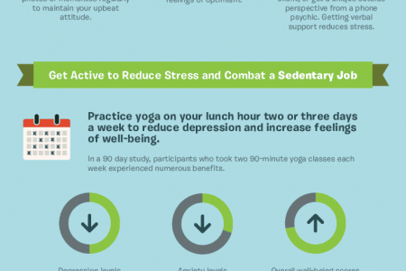 Workplace Zen and Job Stress Management Infographic