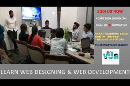 Workshop On Web Development & Web Designing by Vision Upliftment Academy Infographic