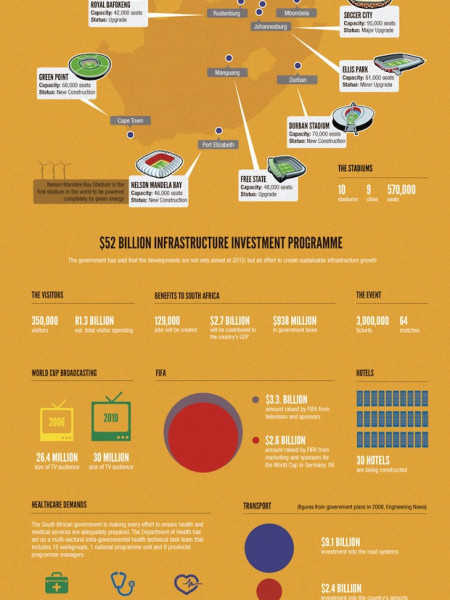 World Cup South Africa 2010 Infographic