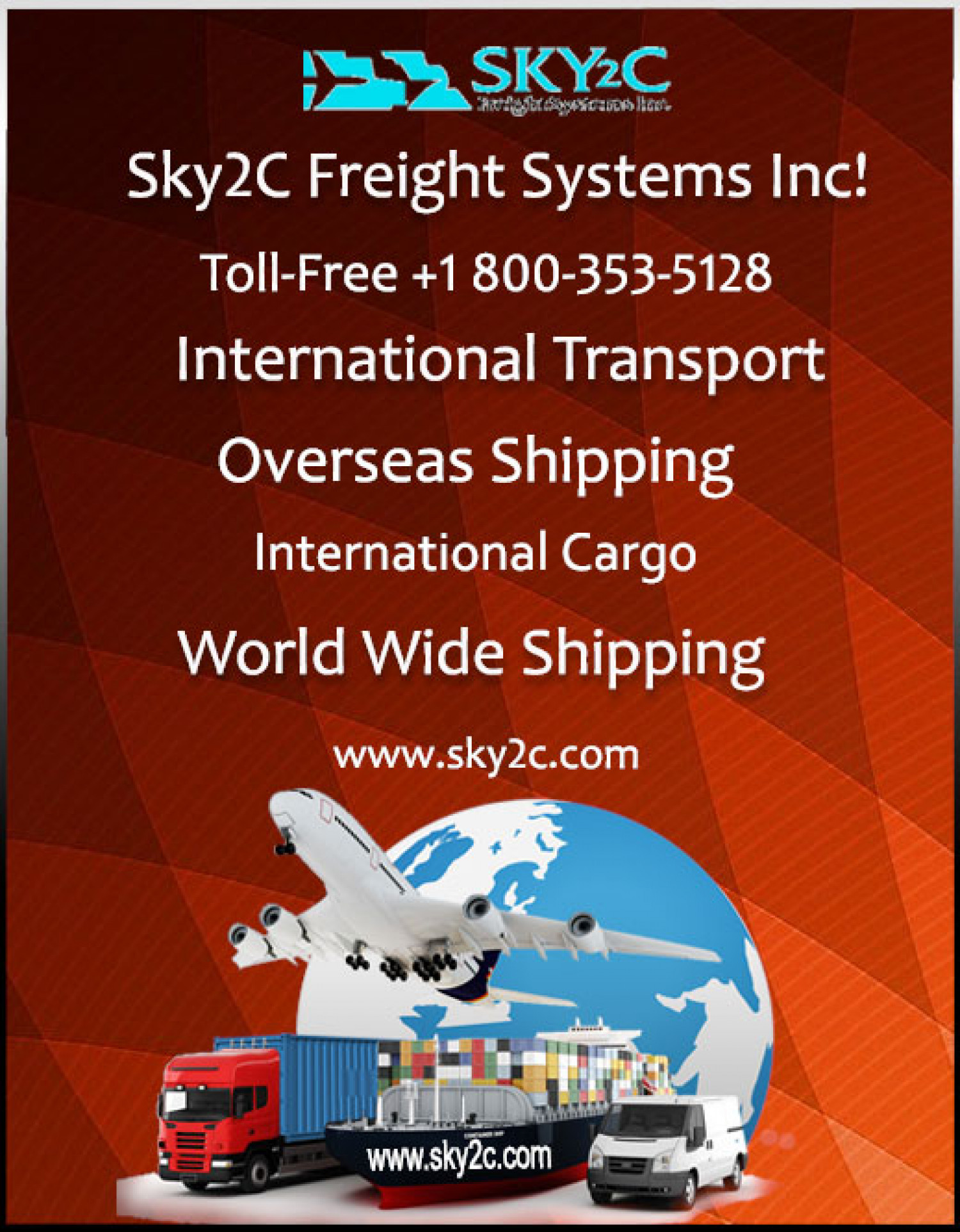 World Wide Shipping Services Infographic