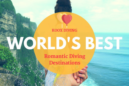 World's Best Romantic Dive Destinations  Infographic