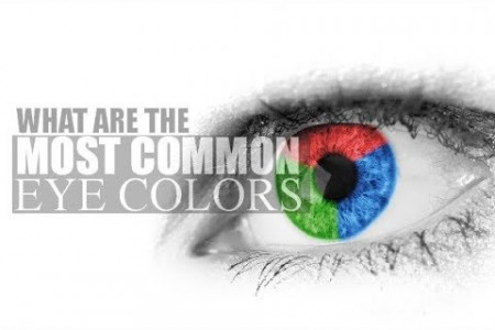 World's Most Common Eye Colors Infographic