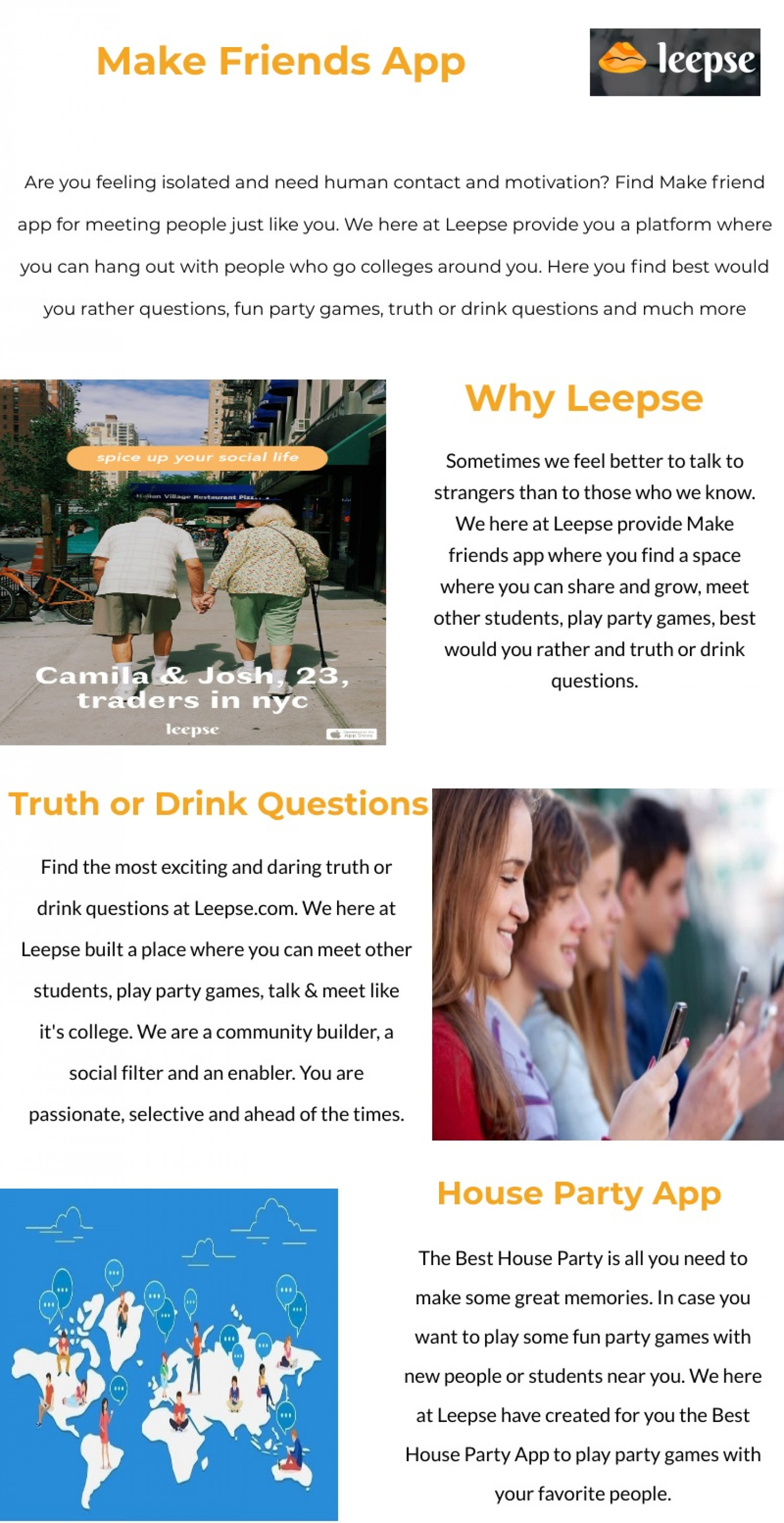 Would You Rather Game | Meet Other Students| Leepse Infographic