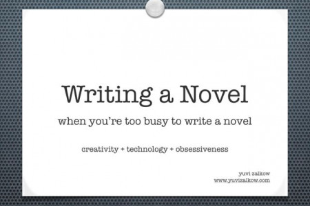 WRITING A NOVEL Infographic