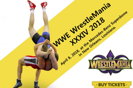 WWE Wrestlemania XXXIV Tickets Discount Coupons - Tickets4Wrestling Infographic