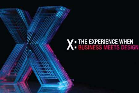 X: The Experience When Business Meets Design Infographic