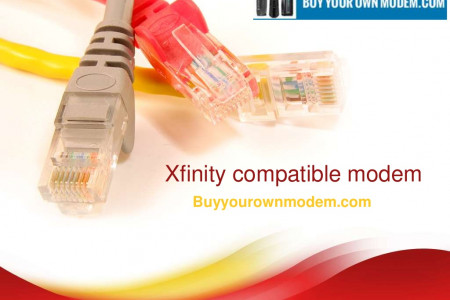 Xfinity Compatible Modem Infographic
