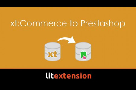 xt:Commerce to Prestashop migration Infographic