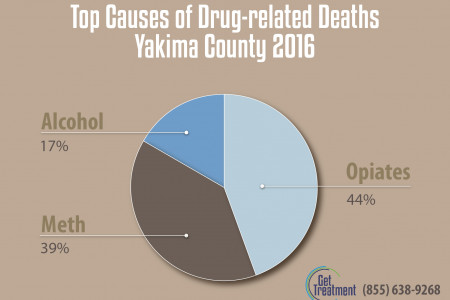 Yakima County and Drug-related Deaths Infographic