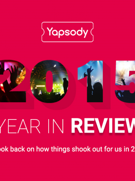 Yapsody - 2015 Year in Review Infographic