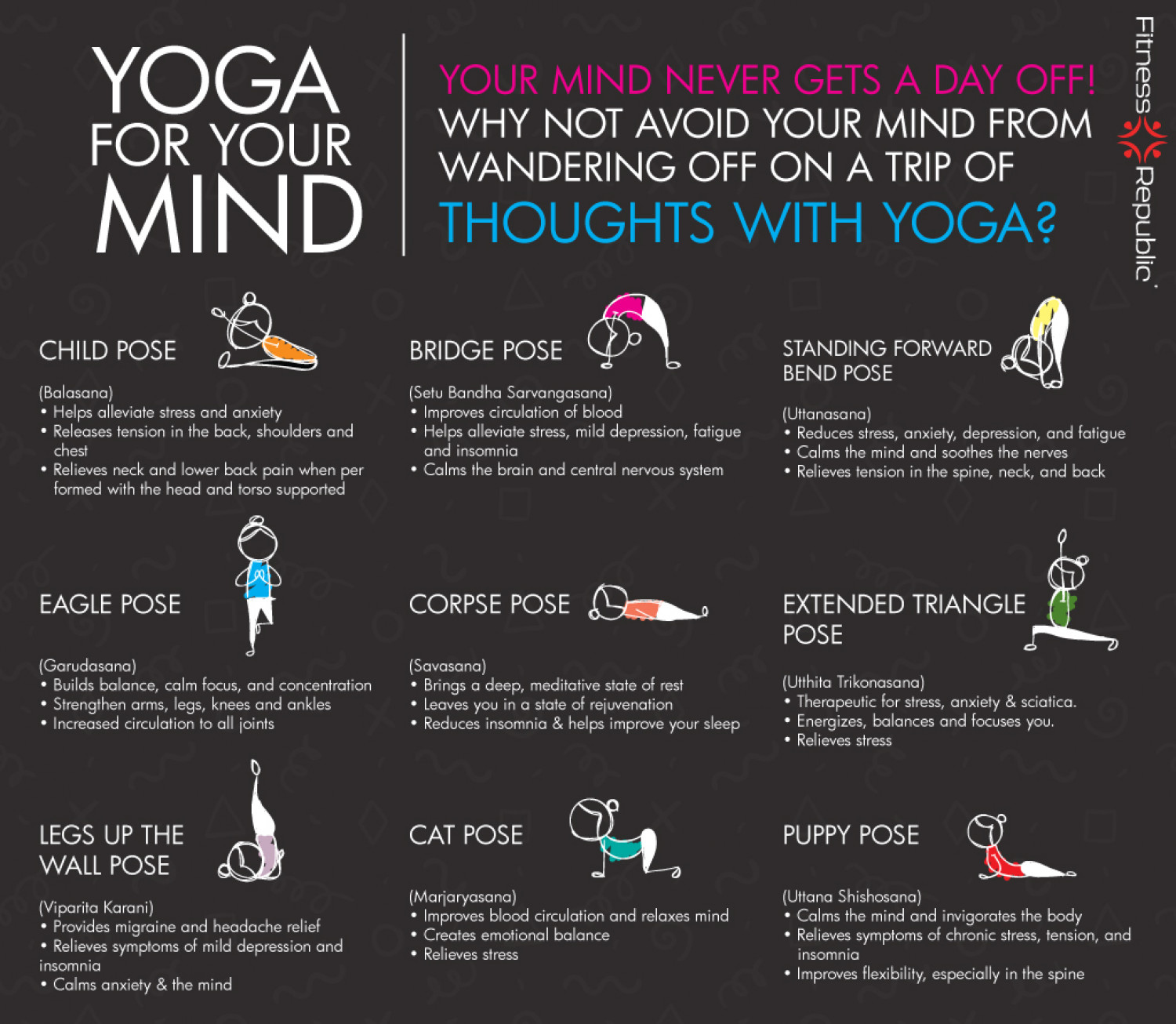 A Yoga Sequence to Train Your Brain to Relax
