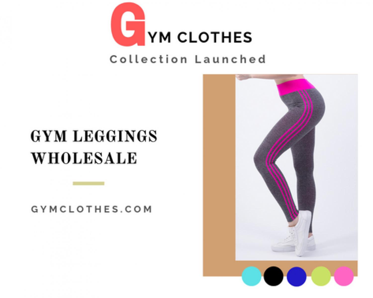 Yoga Leggings Manufacturers - Top Collection Of Wholesale Gym Pants Infographic