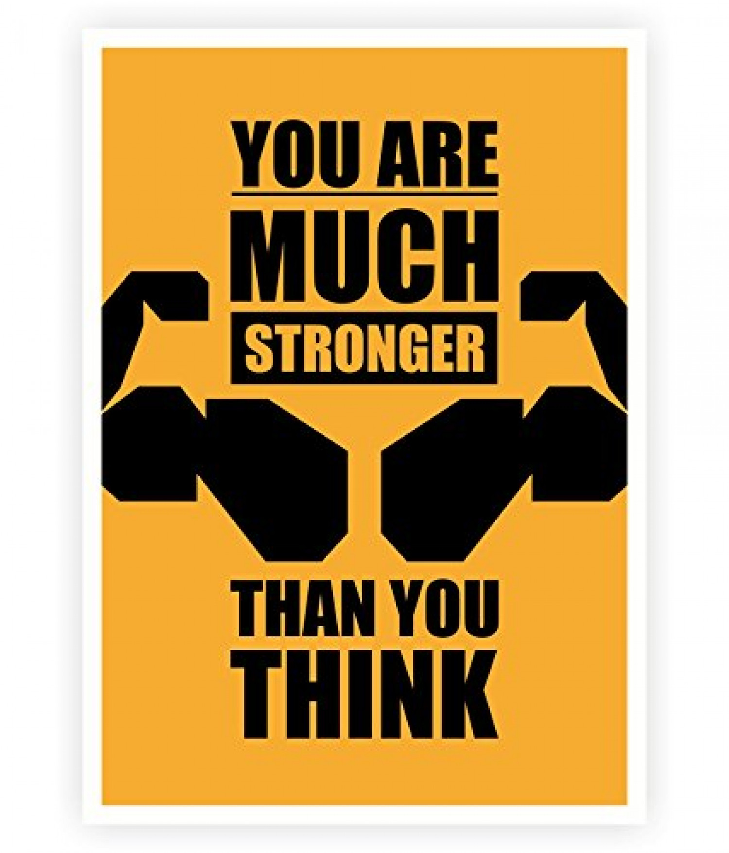 You Are Much Stronger Than You Think Infographic